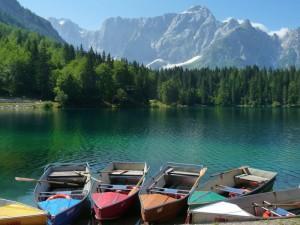 barche nel silenzio