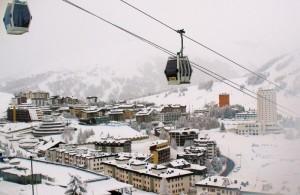 Ore 08:30 … neve fresca si prospetta una splendida sciata!