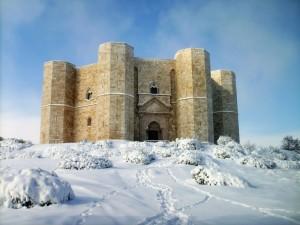 Neve al Castel del Monte