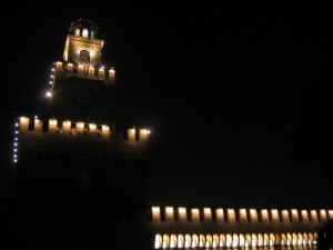 Castello luce e buio