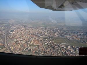 In volo su Voghera