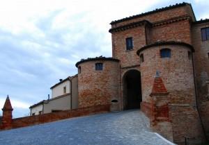 Entrata principale del castello