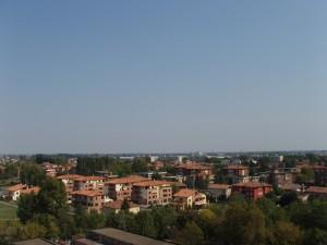 Panorama di Castel Maggiore