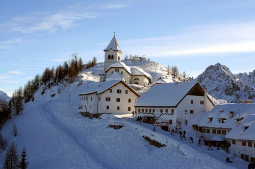 Tarvisio - Lussari invernale