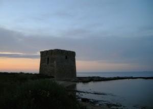 Una Torre al tramonto