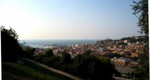 Panorama del porto e del centro storico