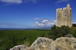 La Torre di Castelmarino con le sue rocce