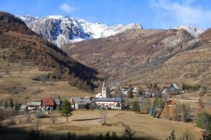 frazione Fenils di Cesana Torinese