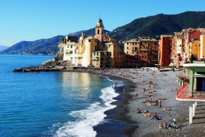 Camogli waterfront