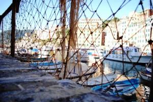 Le reti dei pescatori camoglini