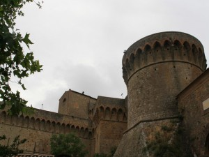 Volterra - le torri del castello