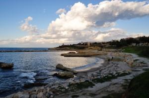 Porto Torres: il mare d'Inverno
