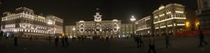 Trieste, la bella Piazza Unità d'Italia