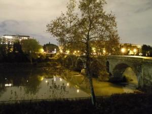 luci sul Ponte Milvio