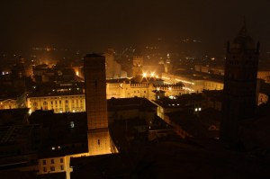 Notte a Bologna
