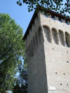 La torre della Rochetta a Ponte Galleria