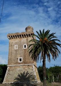 l'ombra su Torre Olevola
