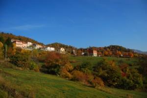 Piuzzo,frazione di Cabella Ligure, Autunno