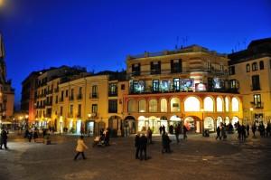 Passeggio serale a Salerno