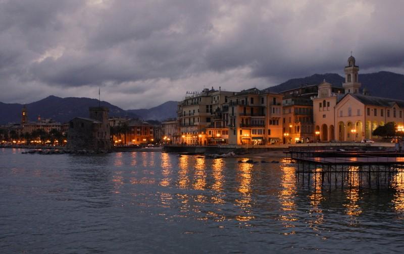 ''Piovigginosa sera'' - Rapallo