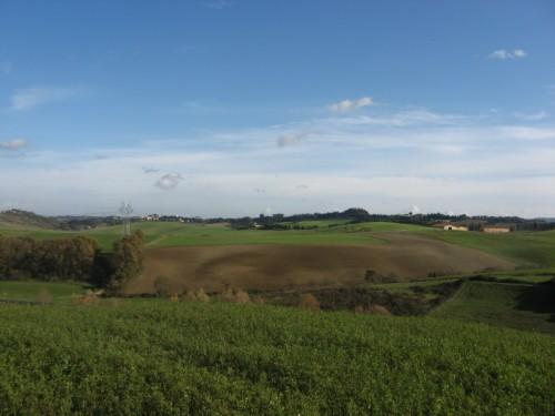 Lorenzana - Vista verso Lorenzana