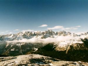Le Dolomiti di Brenta innevate