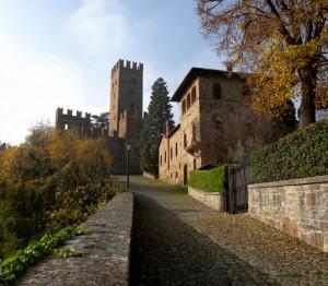 Castell'Arquato - colori d'autunno