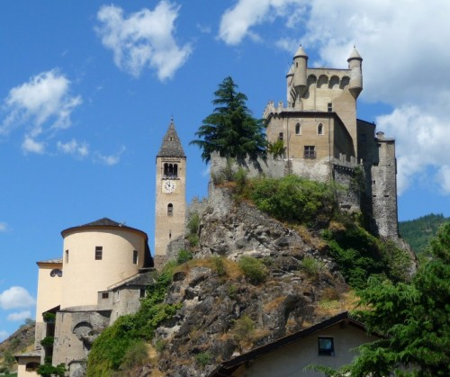 Saint-Pierre - Castello e parrocchiale di Saint-Pierre