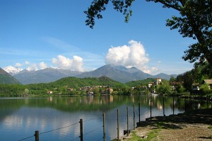 Avigliana e il lago Grande