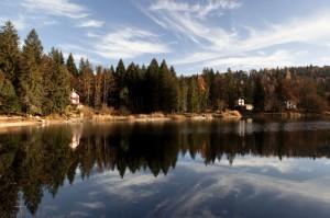Il lago di cei