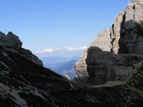 Tregnago - Carega.Scendendo dal rifugio Fraccaroli (2250 mt)