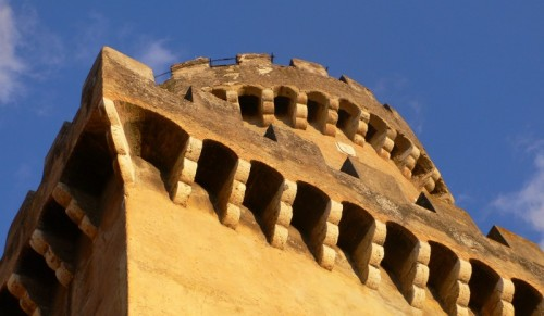 Fiano Romano - La torre al crepuscolo
