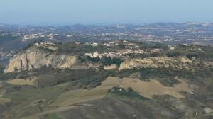 Turri : Vista da Abbateggio…..