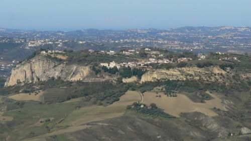 Turrivalignani - Turri : Vista da Abbateggio.....