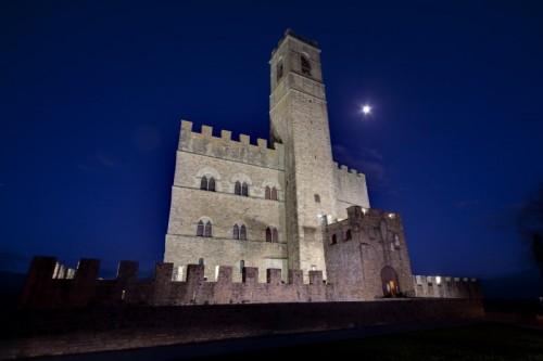Poppi - Notturno al castello di Poppi n° 1