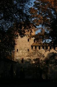 Grazzano Visconti, castello tra gli alberi