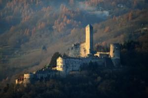 Il Castello ed il tramonto