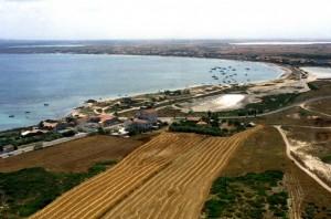Panoramica della Marina Su Pallosu.