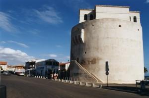 Torregrande, la torre costiera.