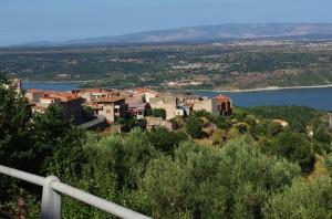 Panorama Sorradile e Lago Omodeo