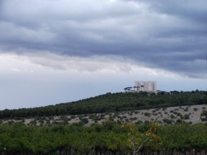 Castel del monte - temporale in arrivo