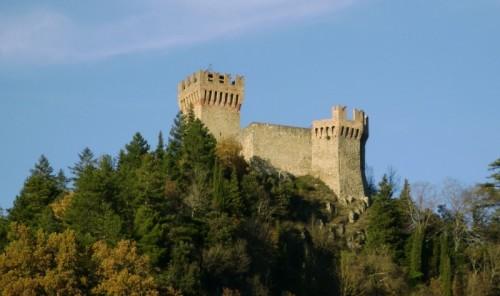 Arquata del Tronto - Il Castello della Regina Giovanna II di Napoli.