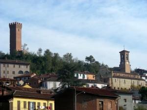 Viarigi- la torre e il campanile