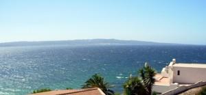 Isola di Carlo Forte vista dalla Torre di Calasetta