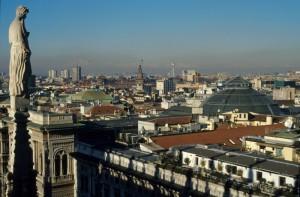 Milano panorama dal Duomo