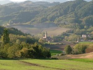 Panorama verso Casa Ponte