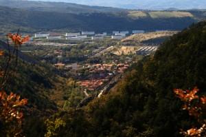 Panorama di San Dorlingo della valle