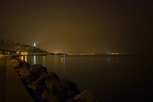Trieste vista dagli scogli