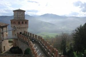 il castello di Vigoleno