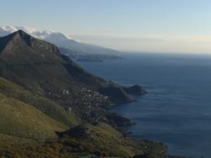 Costa di Maratea vista dal Cristo